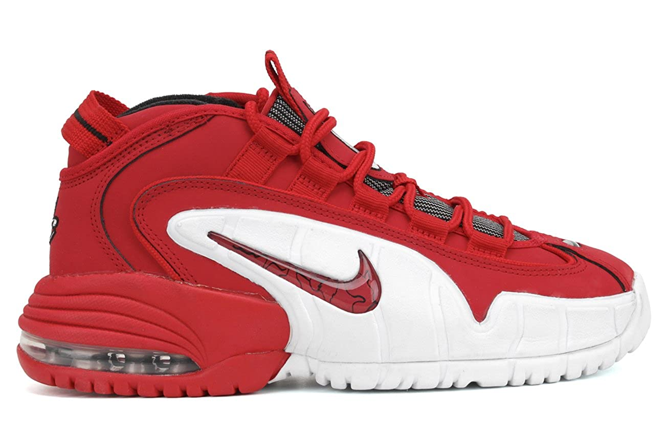 66557fb1c818 Nike Mens Air Max Penny Red Size  6.5 UK  Amazon.co.uk  Shoes   Bags