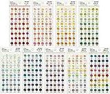 日本の色 色見本帖 シール 全360色セット