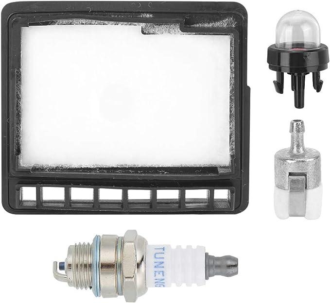 Filtro de aire para motosierra con foco de imprimación para motosierra Echo CS-300, CS-301, CS-305, CS-305, CS-345, CS-340, CS-3450, CS340