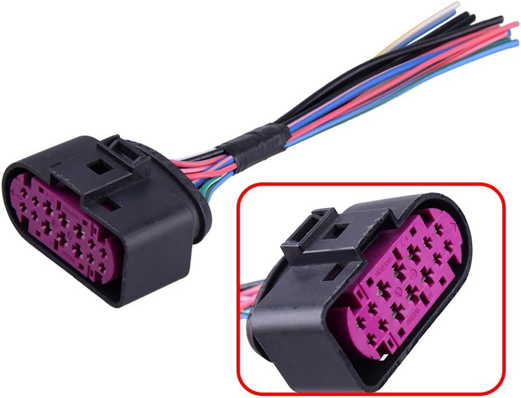 CITALL 14 broches h/élium HID phare plug pigtail connecteur pour Audi Q5 Q7 A4 A4 S4 A5 A6 A8 TTRS 1J0973737