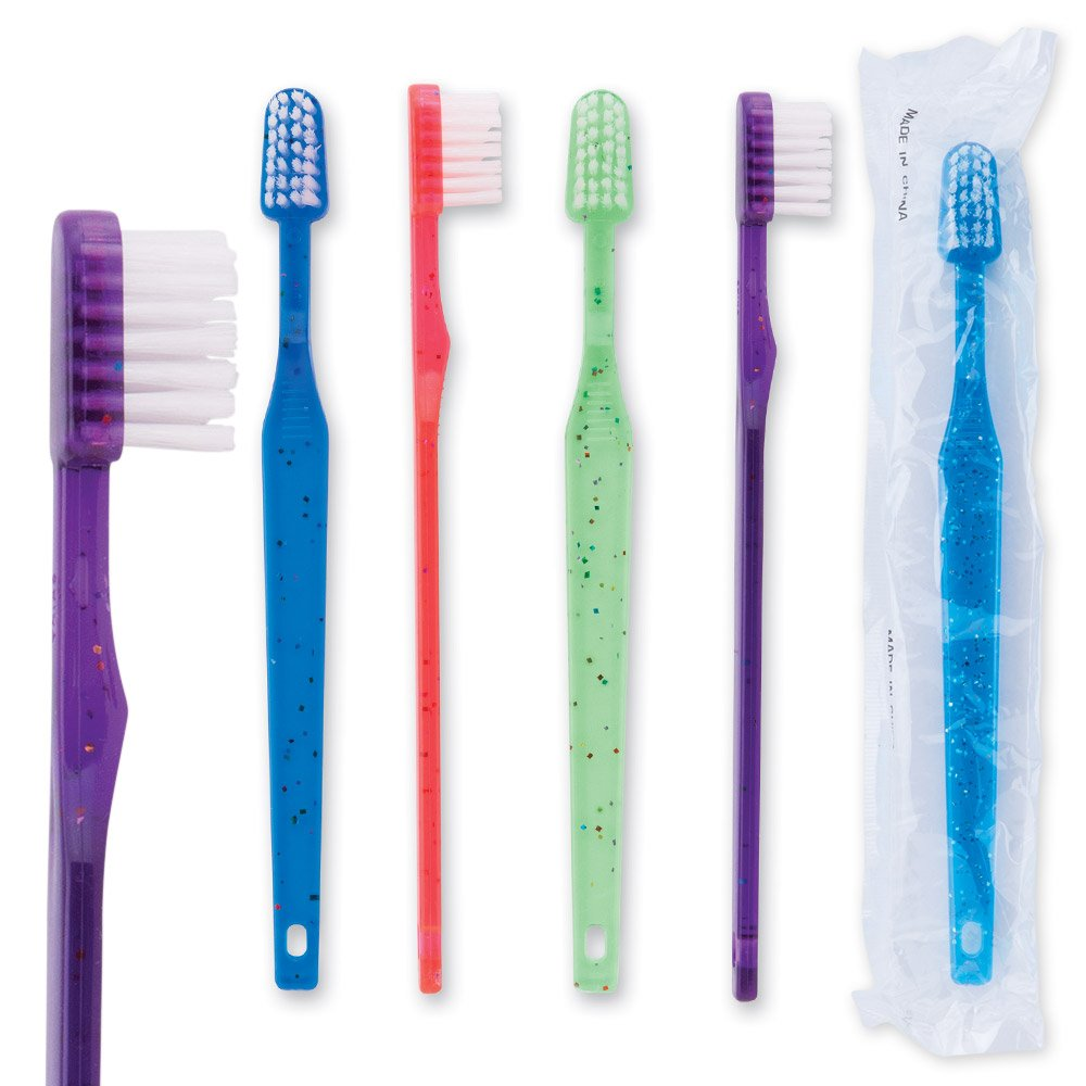 Oraline Youth Sparkle Toothbrushes - 144 per pack