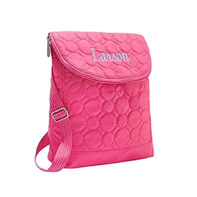 Thirty One Vary You Backpack Purse 4196 Coral Quilted Dots ...