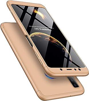 MRSTER Funda Samsung A70-360 Grados Protección Cubierta PC Hard ...