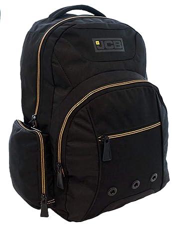 0fe38ea84db46 JCB Rucksack Explorer Schwarz Gelb Premium Rucksack  Amazon.de ...