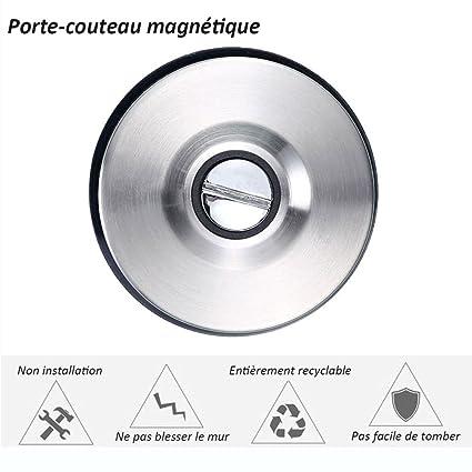 Bloque magnético para cuchillos pared soporte imán para ...