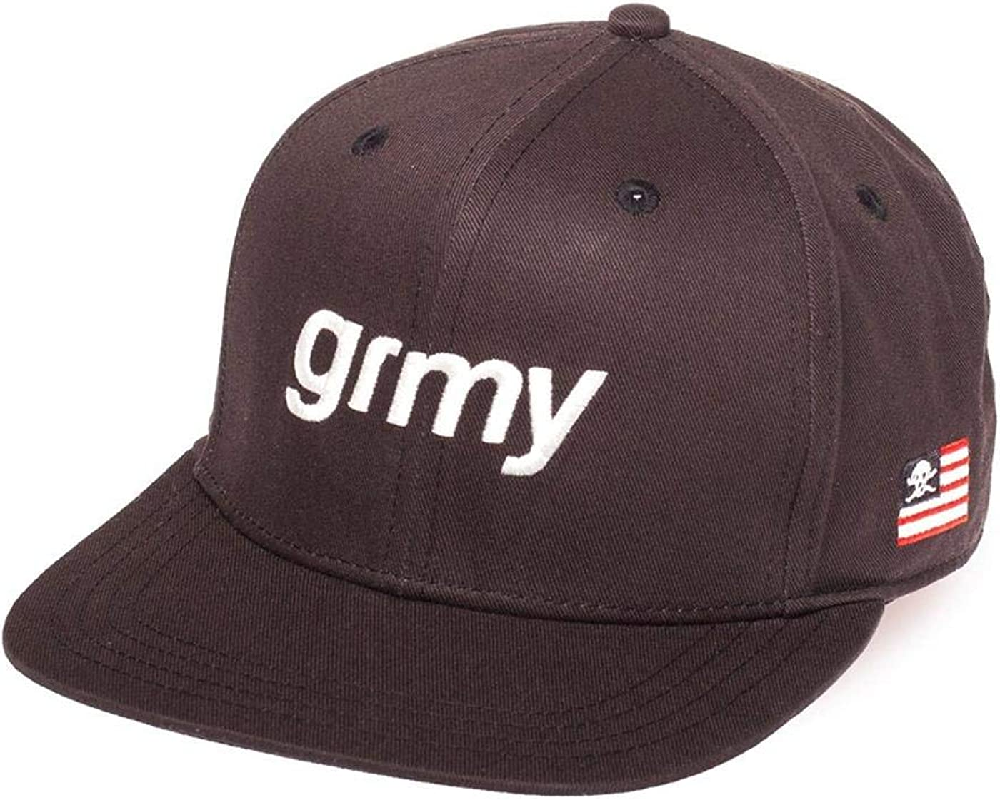 GRIMEY Gorra The Lucy Pearl Snapback FW17 Black-Snapback: Amazon ...