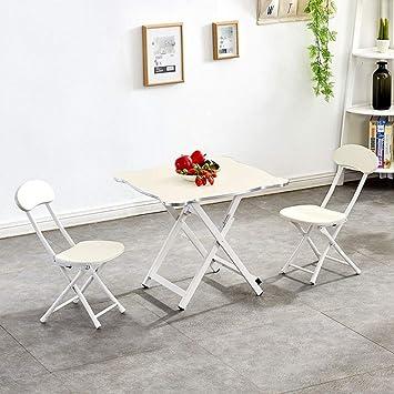 petite table pliante et chaises jardin