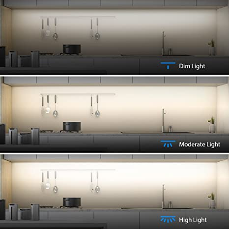 LED Under Cabinet Lighting, Aglaia Dimmable Under Cupboard Light LED 9W  6000K Ultra Thin Closet