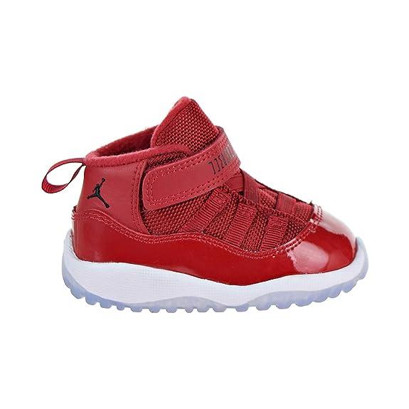 uk availability a5345 f5941 NIKE Jordan 11 Retro BT Toddler's Shoes Gym Red/Black/White 378040-623