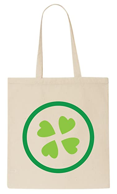 4Chan Clover Logo Tote Bag: Amazon.co.uk: Shoes \u0026 Bags
