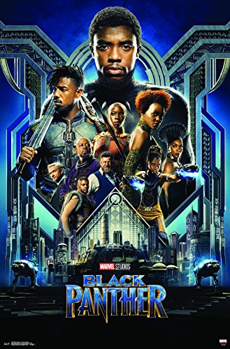 Trends International Black Panther-Group One Sheet Wall Post