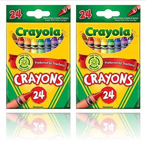 Crayola Crayons 24 Count - 2 Packs