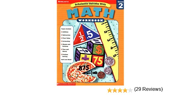 Amazon.com: Scholastic Success With: Math Workbook: Grade 2 ...