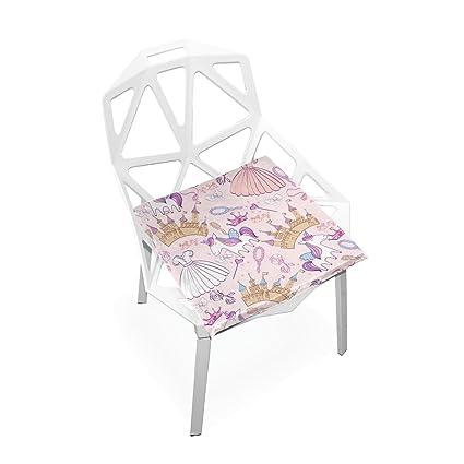 Amazon.com: Plao cojines de asiento Cojín castillo unicornio ...