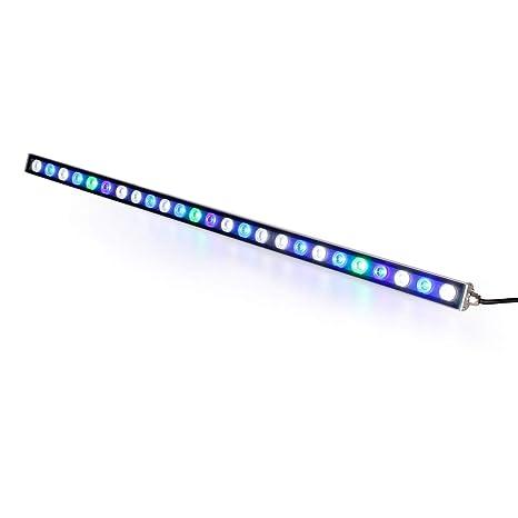 Roleadro Led Acuario 81w,27 LEDs Luz Acuario con Lampara UV Acuario 85CM Impermeable IP