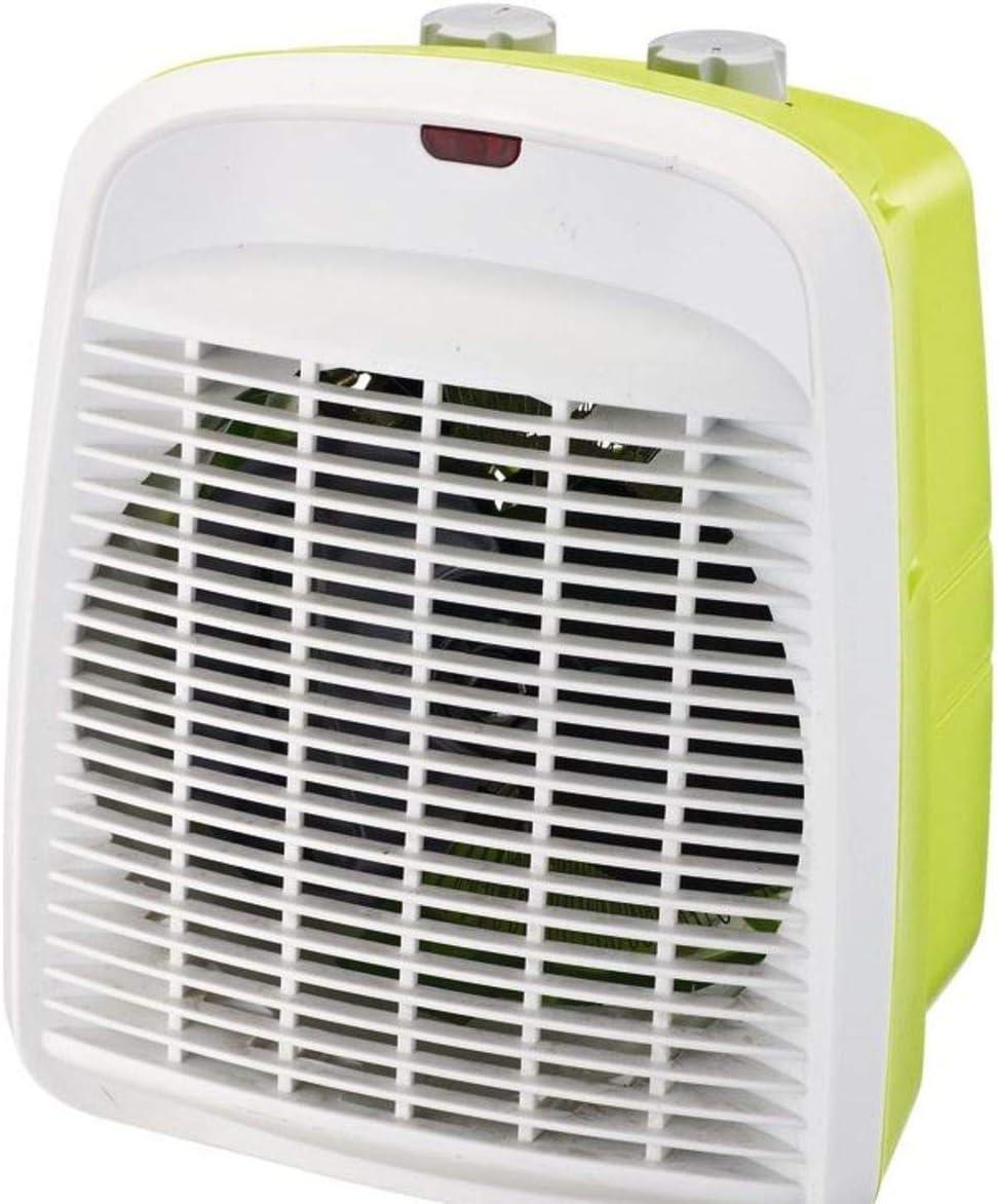 Selecline FH205-S Calentador de ventilador Interior Verde, Blanco ...