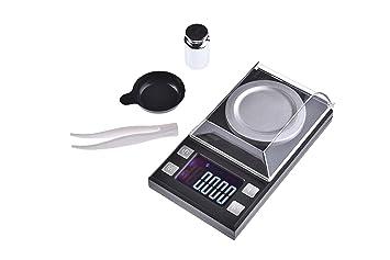 Quantum Abacus X-Precise 1MG: Báscula digital de precisión / balanza para correo / joyería / pesacartas / microbalanza / pesillo ...