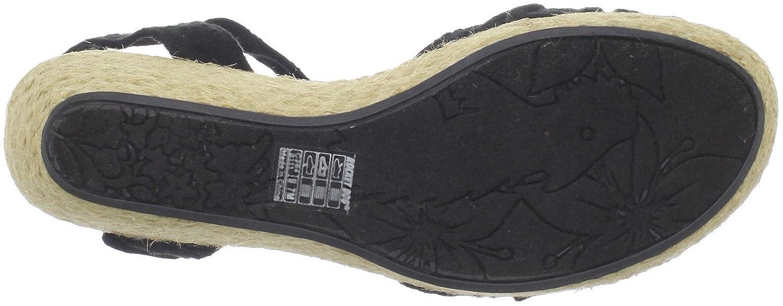 Rocket Dog Women's Covet Wedge US|Black Sandal B004JW369M 7.5 B(M) US|Black Wedge 858f9c