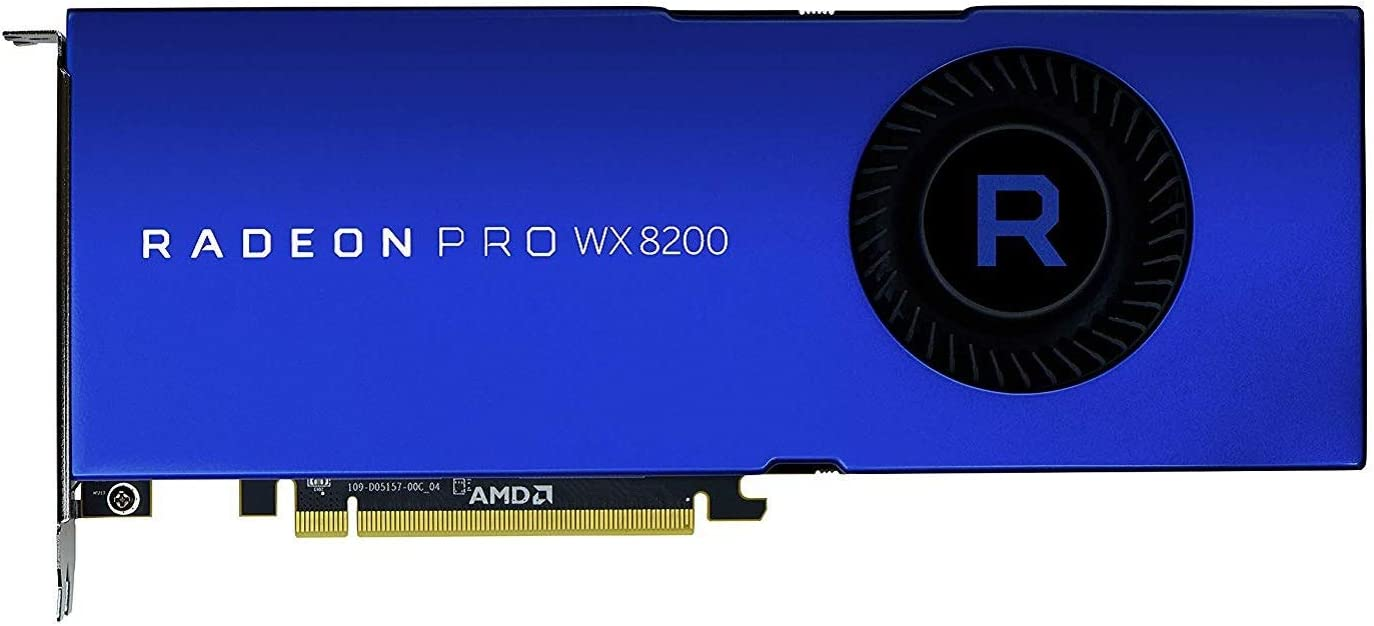 Amazon.com: AMD Radeon Pro WX 8200 Graphic Card: Computers ...