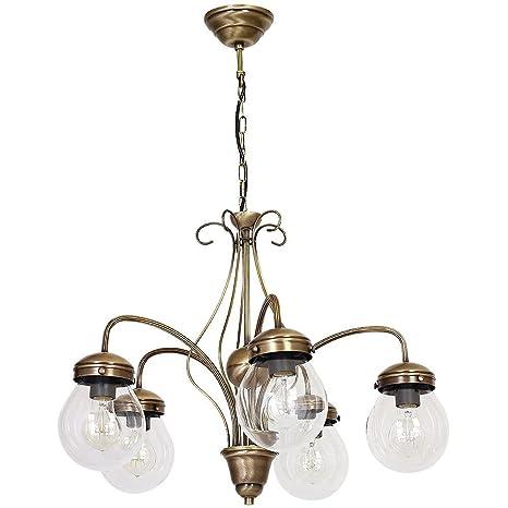 Forma Bonita lámpara colgante (Profundidad hasta: 0,8 m, 5 ...