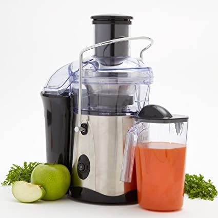 Fusion Juicer (Black&Stainless Steel) by Tristar: