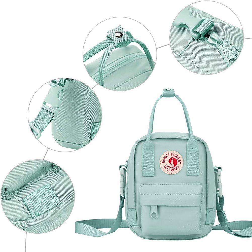 KALIDI Cross-body Bag Small Travel Messenger Bag Handbag Adjustable for Boys,Girls,Men and Women