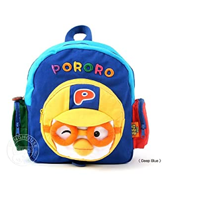 85%OFF Pororo Face Backpack Toddler Kids Plush Backpack (2 to 5 years) PR142 Blue