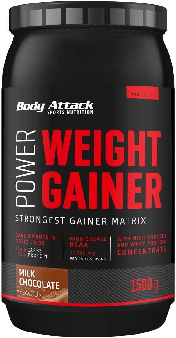 Body Attack Power Weight Gainer 100% de masa de ...