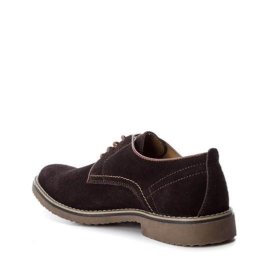 XTI 047069, Zapatos de Cordones Oxford para Hombre, Azul (Navy), 42 EU