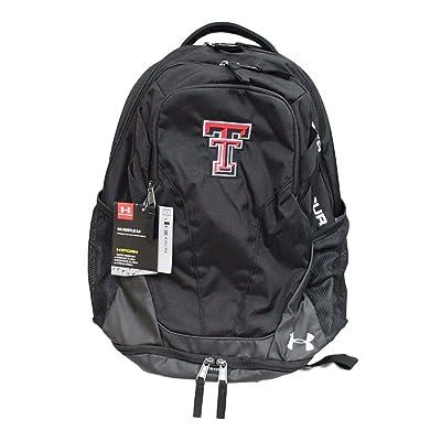 Texas Tech Red Raiders Under Armour Hustle III Premium Backpack - Black