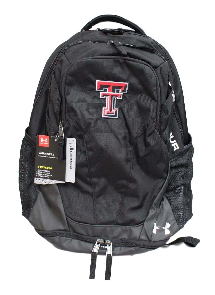 ad34002beaac new Texas Tech Red Raiders Under Armour Hustle III Premium Backpack ...