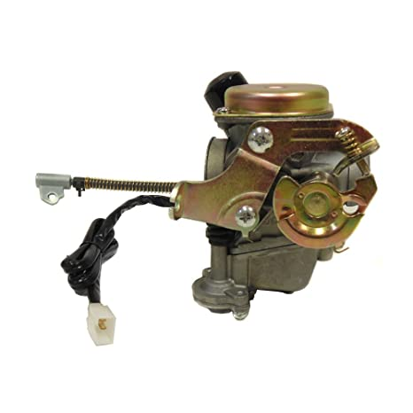 PREMIUM MYK Carburetor 50cc 80cc 4 Stroke GY6 Engine 139QMB 139QMA 50QT w  Electric Choke and Fuel Filter
