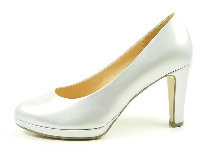 Gabor 61 270 Schuhe Damen Plateau Perlato Lack Pumps Weite F