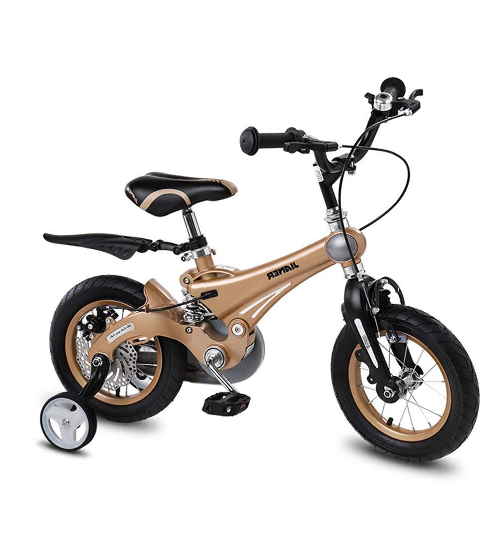 el más barato SXMXO Bicicleta Infantil, Muy Ligera Ligera Ligera de 12 14 16 Pulgadas para niñas de 2 a 11 años Bicicleta Infantil Niños de 2 años con Ruedas de Entrenamiento y resignación,16inches 12inches  Con 100% de calidad y servicio de% 100.