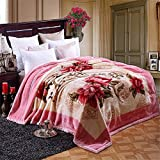 Raschel Blanket Thick Weighted Heavy Napping Throw Snuggle Reduce Anxiety Help Autism Bed Couch Cozy Warm Smooth Thanksgiving Wedding Christmas Birthday Gift, Full180×220cm 3kg