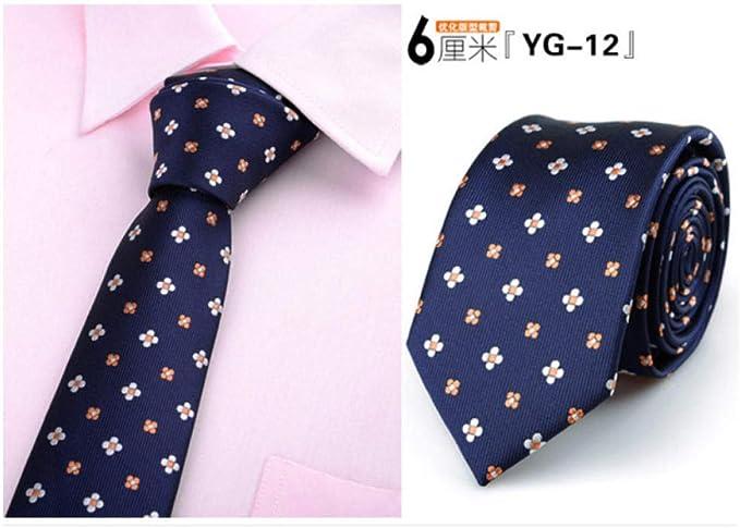 ALHZ Regalos de corbata de corbata para hombres corbatas de ...