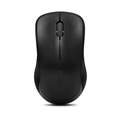 49a1b672dc1 Amazon.in: Buy Rapoo 1620 Wireless Optical Mouse (Black) Online at Low  Prices in India | Rapoo Reviews & Ratings