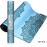 YOGA DESIGN LAB | The Infinity Mat | Luxurious Unique Non-Slip Design Provides Unparalleled Grip to Support and Align You Beautifully | Eco-Friendly | 4 Colors | w/Carrying Strap!