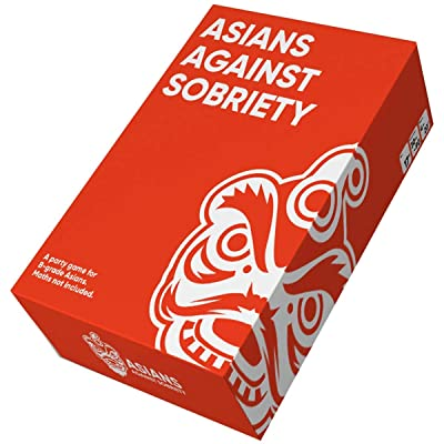 Asians Against Sobriety - A Game for B-Grade Asians: Toys & Games