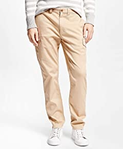 Brooks Brothers Red Fleece Slim Fit Cargo Pants