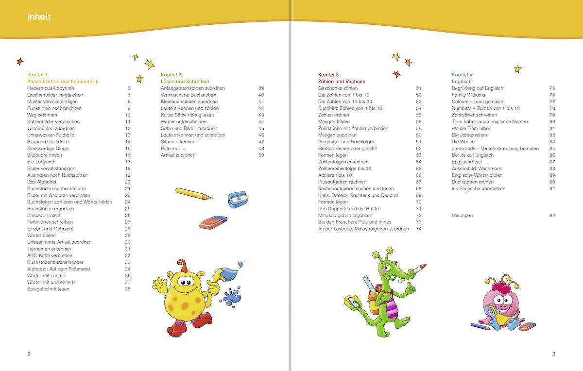 Mein Kunterbuntes Vorschulbuch Amazon De Bücher