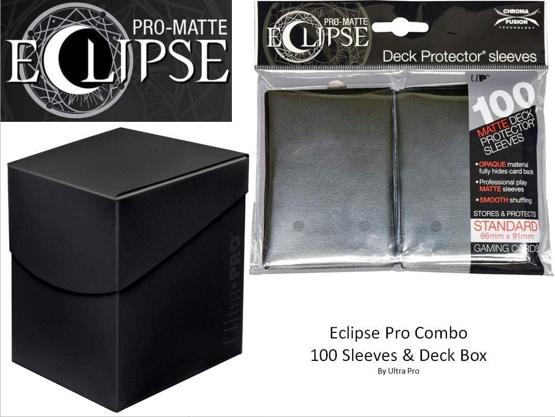 Ultra Pro - Juego de Protectores de Cubierta y Caja de Cubierta (100 Unidades) para MTG Pro-Matte Eclipse: Amazon.es: Juguetes y juegos