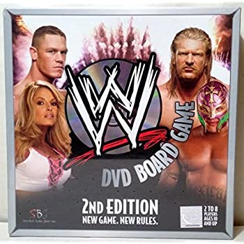 Wwe dvd board game 2nd edition complete | ebay.