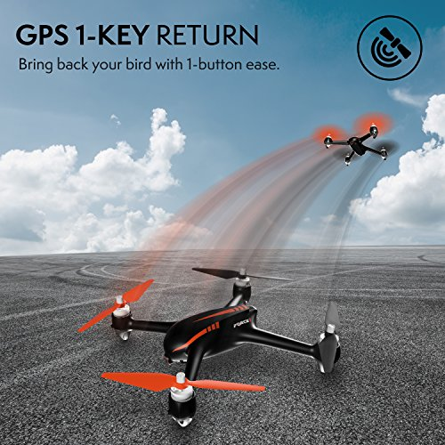 Force1 Drone with Camera Live Video and GPS Return Home Brushless Motors HD Drone 1080p Camera FPV MJX B2W Bugs 2 Quadcopter by Force1 (Image #8)