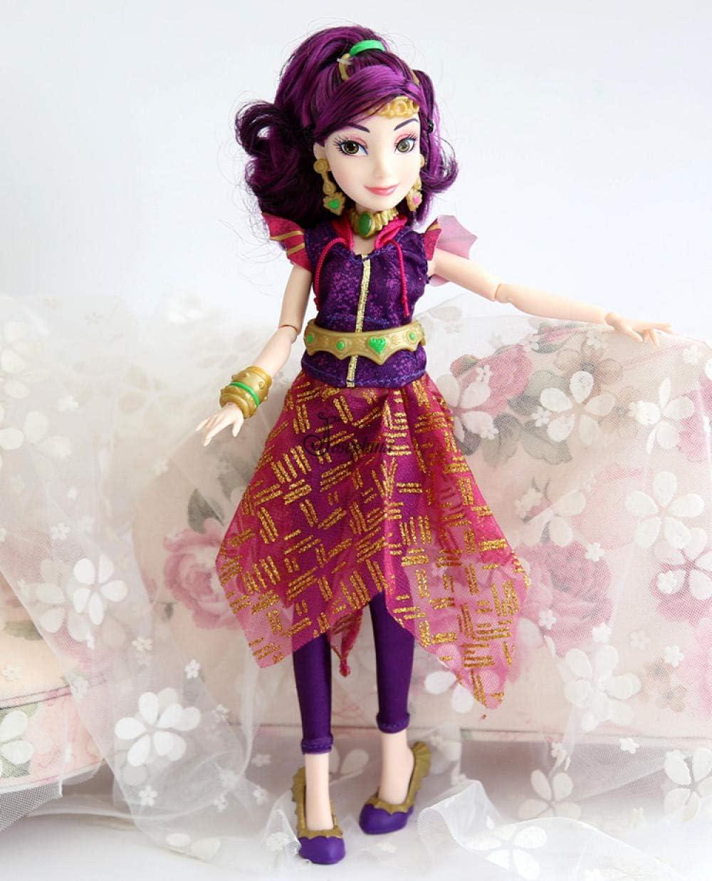11 Pulgadas Original Jimusuhutu Descendientes Evie Mal Modelo BJD Dolls Fashion 11Joints Anime Figure Toy para niñas-como Imagen 12_Ninguna Caja al por Menor