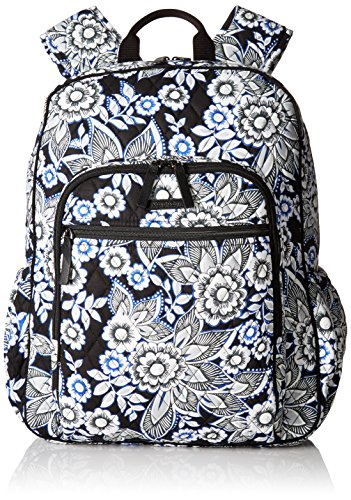 Vera Bradley Women's Campus Tech Backpack, Snow Lotus