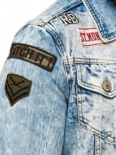 Blu Giacca Jeans Redbridge Redbridge Giacca Uomo EIvwq