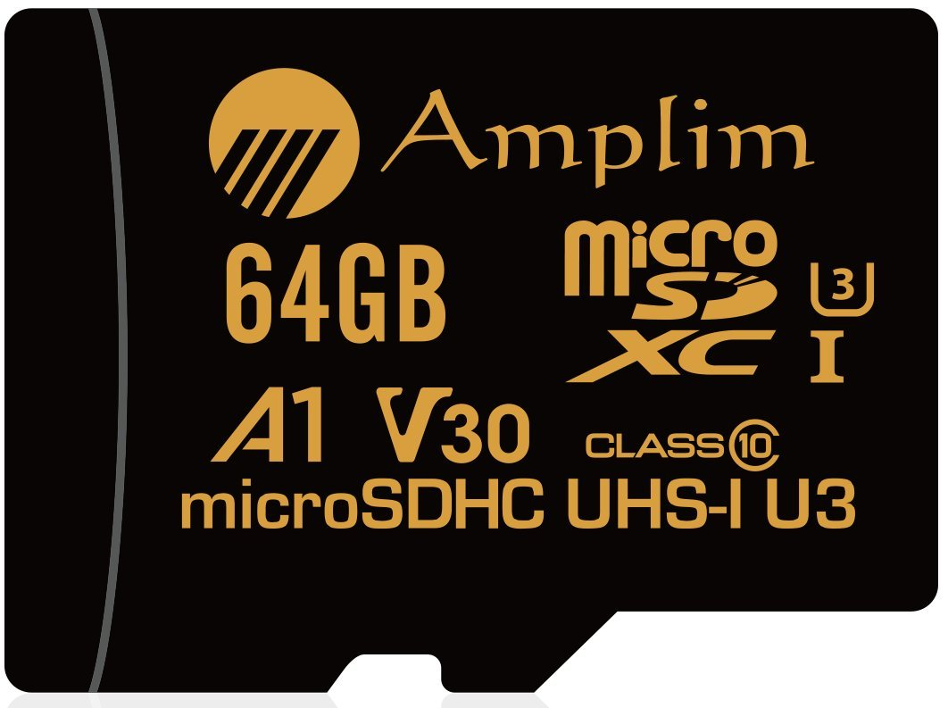 Amplim 64gb Micro Sd Sdxc V30 A1 Memory Card Plus Adapter Pack Hc V Gen Turbo Series 16gb Class 10 Free Adaptor U3 Uhs I Microsd Xc Extreme Pro 64 Gb Ultra High Speed 667 X 100mb S 1 Tf Microsdxc 4k Flash Cell Phone Drone Camera