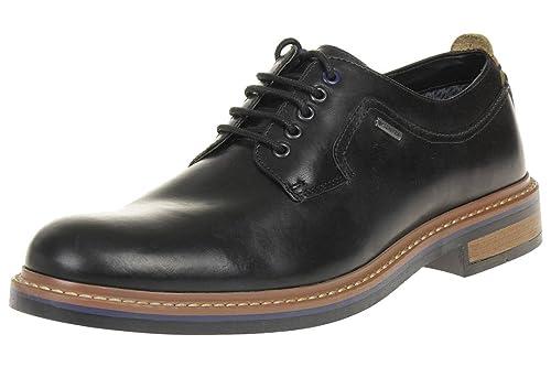 7814e8764e9f46 Clarks Men s Lace-Up Gore-Tex Derby Shoes Darby Walk GTX Black Leather