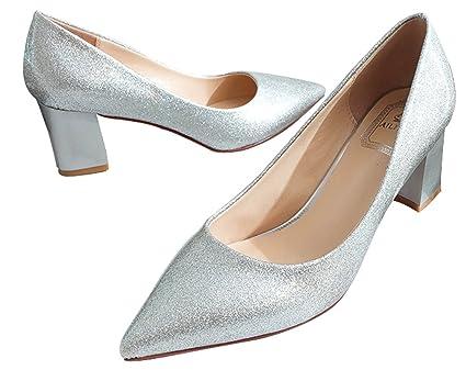 Wedding Shoes Bridal Shoes Bling Princess Shoes Silver
